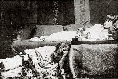 Opium smokers_paris 1910_the alchemist_tumblr