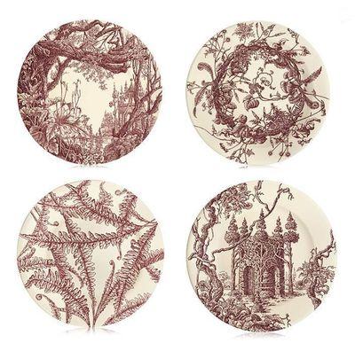 Hermesdinnerware les Maisons Enchantee